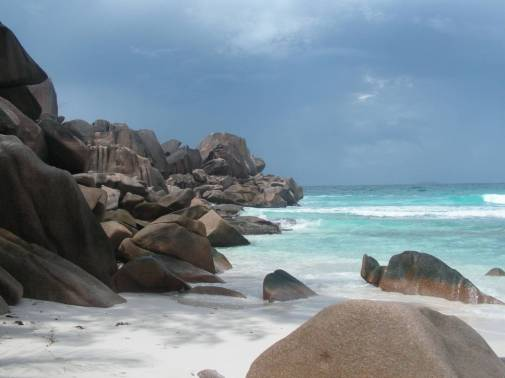Grand Anse à La Digue.